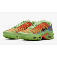 Кроссовки Nike Air Max Plus x Supreme зеленые