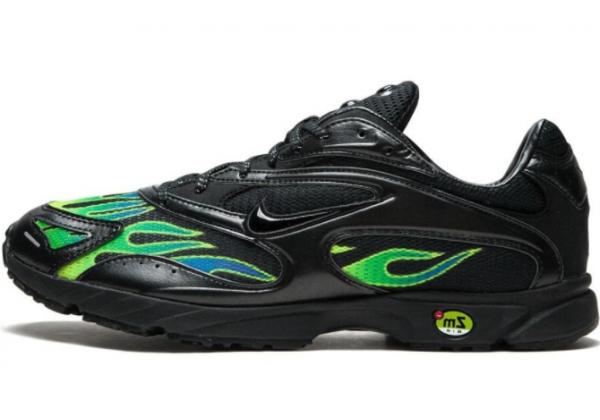 Кроссовки Nike Air Max Plus x Supreme 'ZM STRK Spectrum PLS' черные