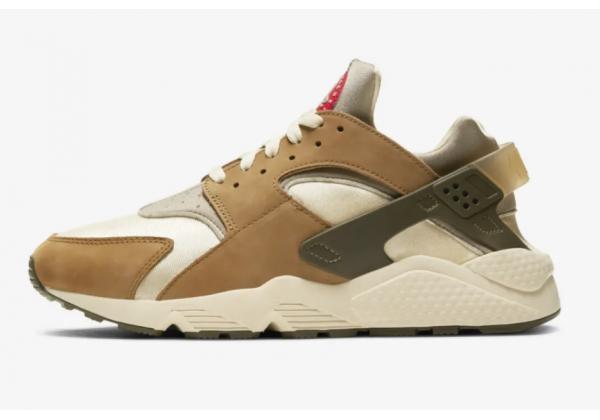 Кроссовки Nike Huarache Run LE коричневые