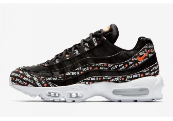 Кроссовки Nike Air Max 95 Just Do It Pack черные
