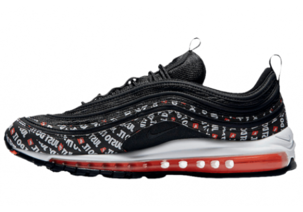 Кроссовки Nike Air Max 97 Just Do It Pack черные