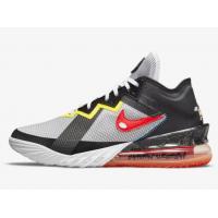 "Кроссовки Nike Lebron 18 Low ""Sylvester vs Tweety"" черно-белые"