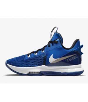 Кроссовки Nike LeBron Witness 5 синие