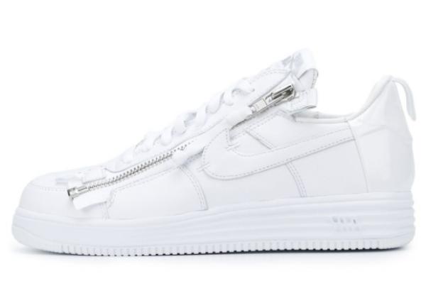 Кроссовки Nike Acronym X Lunar Force 1 Air белые