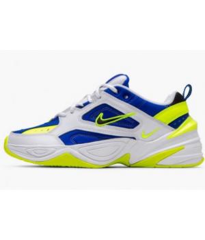 Кроссовки Nike M2k Tekno сине-желтые