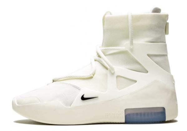 Кроссовки Nike Air Fear Of God 1 белые