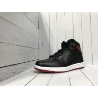 Кроссовки Nike Air Jordan  черно-бордовые