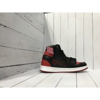 Кроссовки Nike Air Jordan черные с красным