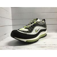 Кроссовки Nike Air Max 97s черно-зелено-белые