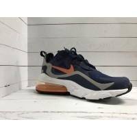 Кроссовки Nike Air Max 270 синие с оранжевым