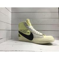 Кроссовки Nike Air Jordan с надписью желто-серые