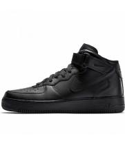Nike кроссовки Air Force 1 Mid Black