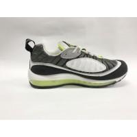 Кроссовки Nike Air Max 90 черно-белые с зеленым
