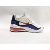 Кроссовки Nike Air Max 270 бело-синие с красным