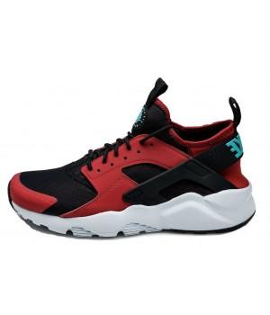 Кроссовки Nike Huarache Ultra красные с черным