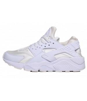 Кроссовки Nike Huarache Ultra белые с серым