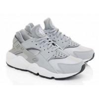 Кроссовки Nike Huarache серебристые