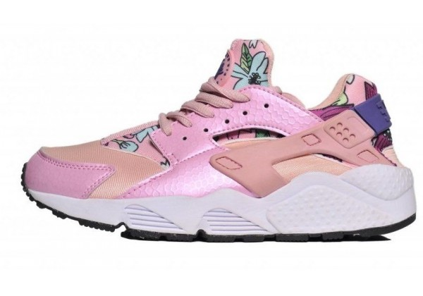 Кроссовки Nike Huarache Havai розовые