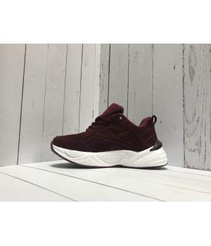 Кроссовки Nike M2k Tekno темно-бордовые