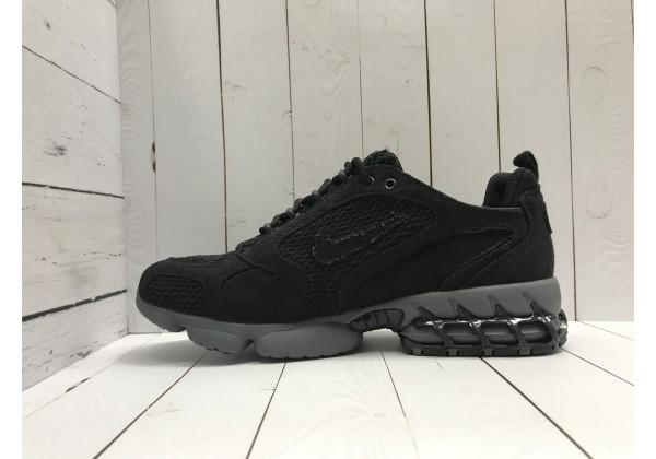 Кроссовки Nike x Stussy моно черные