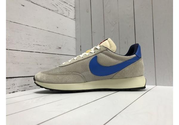 Кроссовки Nike Cortez серые с синим