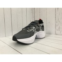 Кроссовки Nike Air Barrage серые с красным