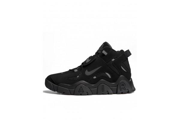 Кроссовки Nike Air Barraged моно черные