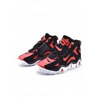 Кроссовки Nike Air Barrage Mid черные с красным