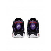 Кроссовки Air Barraged белые с фиолетовым