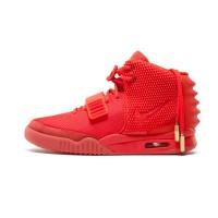Кроссовки Nike Air Yeezy красные