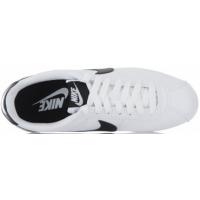 Кроссовки Nike Cortez Nylon белые с черным