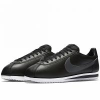 Кроссовки Nike Cortez моно черные