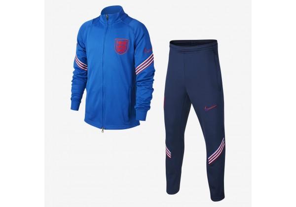 Мужской трикотажный футбольный костюм England Strike