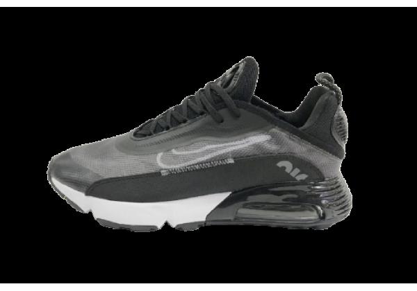 Кроссовки Nike Air Max 270 серо-черные