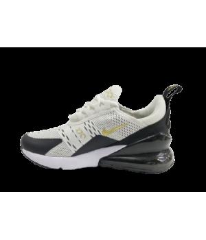 Кроссовки Nike Air Max 270 черно-бежевые