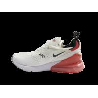 Кроссовки Air Max 270 красно-белые
