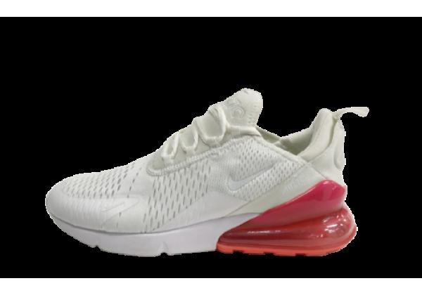 Кроссовки Nike Air Max 270 бело-красные