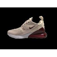 Кроссовки Nike Air Max 270 бежево-красные