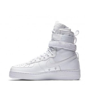 Зимние кроссовки Nike SF AF1 Special Field Air Force 1 White белые
