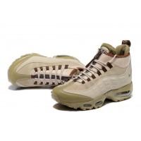 Зимние кроссовки Nike Air Max 95 SneakerBoot Olive коричневые