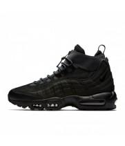 Зимние кроссовки Nike Air Max 95 SneakerBoot Mid Black черные