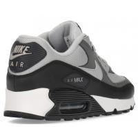 Кроссовки Nike Air Max 90 серые c черным