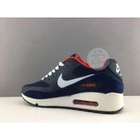 Кроссовки Nike Air Max 90 PREMIUM синие с белым