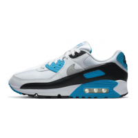 Кроссовки Nike Air Max 90 Ltr Gs белые с синим