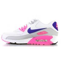 Кроссовки Nike Air Max 90 розовые с белым