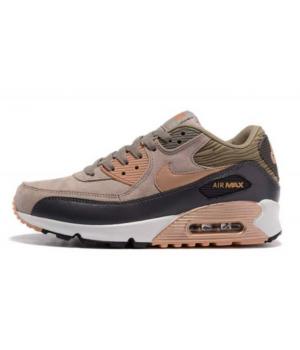 Кроссовки Nike Air Max 90 замшевые коричневые