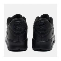 Кроссовки Nike Air Max 90 кожаные черные
