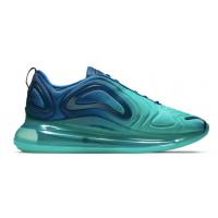Зимние кроссовки Nike Air Max 720 бирюзовые с голубым