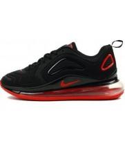 Зимние кроссовки Nike Air Max 720 черные с красным
