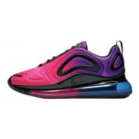 Зимние кроссовки Nike Air Max 720 сиреневые с розовым